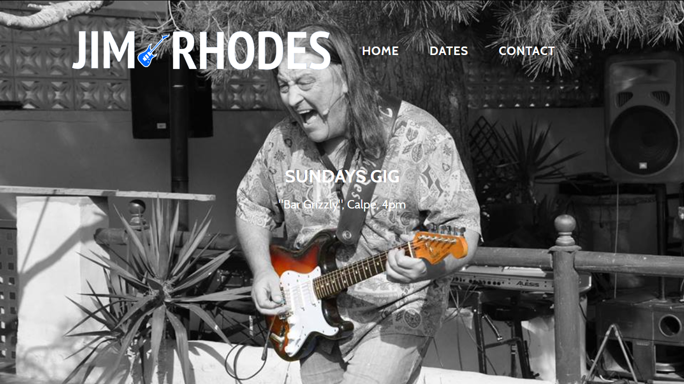 Jim Rhodes redesign and management with Index Web Designs.